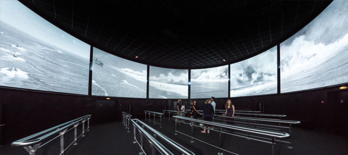 ARROMANCHES 360 CINEMA CIRCULAIRE    CHATEAUX EN FRANCE