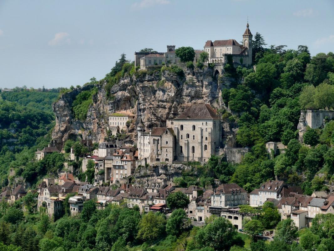 CITE DE ROCAMADOUR    CHATEAUX EN FRANCE