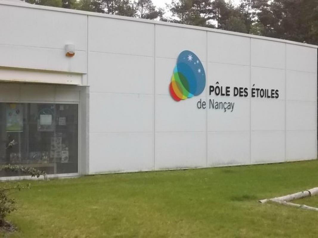 POLE DES ETOILES DE NANCAY    CHATEAUX EN FRANCE
